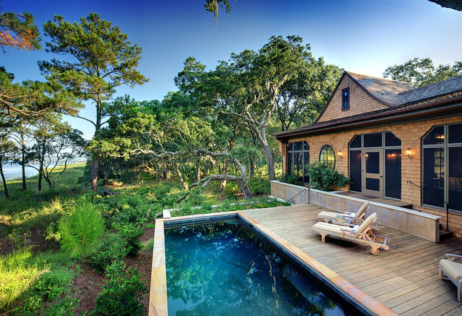 Traditional Pool by The Anderson Studio of Architecture & Design