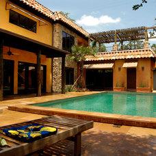 Mediterranean Pool by Legal Eagle Contractors