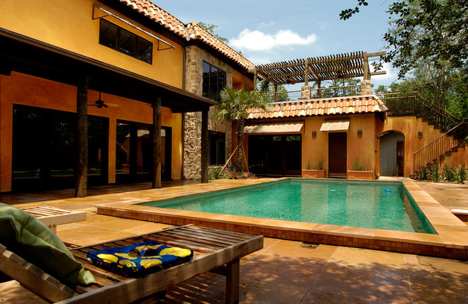 Mediterranean Pool by Legal Eagle Contractors