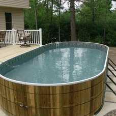 Eclectic Pool by Pocono Pool & Spa LLC