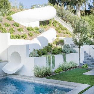 Pool - modern pool idea in Orange County
