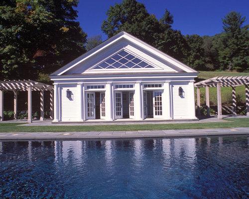 greek revival pool house. Black Bedroom Furniture Sets. Home Design Ideas
