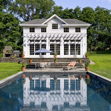 Traditional Pool by Crisp Architects