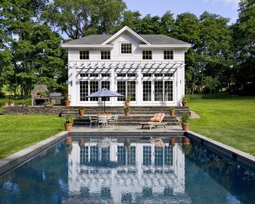 tuscan pool house houzz
