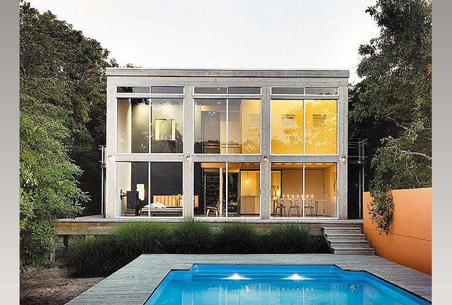 Modern Pool by Roger Hirsch Architect