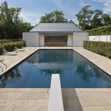 modern pool by Vinci | Hamp Architects