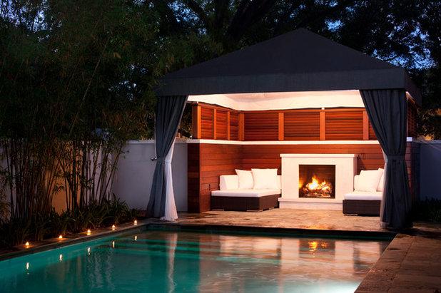 Classique Chic Piscine by Conner Landscape Architects