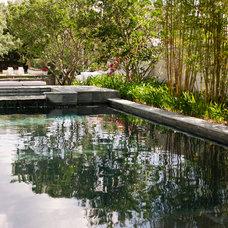 Modern Pool by David Conner + Associates