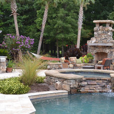 Eclectic Pool by TG&R Landscape Group