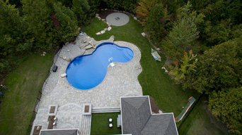 Custom Backyard and Pool
