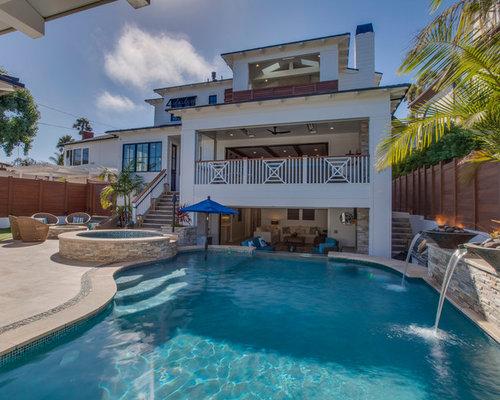piscine bord de mer avec du carrelage photos et id es d co de piscines. Black Bedroom Furniture Sets. Home Design Ideas