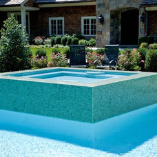 Contemporary Pool by Cipriano Landscape Design & Custom Swimming Pools