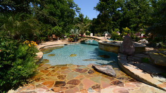 Custom Gunite Swimming Pool