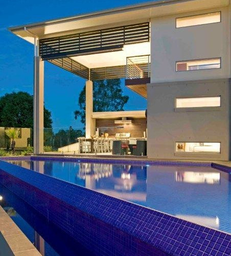 Luxury brisbane pool design ideas renovations photos for Pool design brisbane