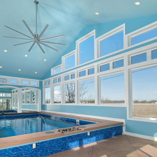 Pool - contemporary pool idea in Other