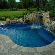 "Traditional Pool by Long Island Hot Tub ""Hot Tub and Pool Experts"""