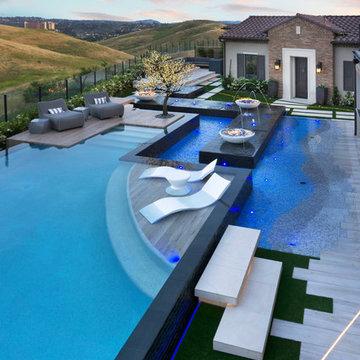 Custom Infinity Pool & Spa
