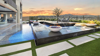 Custom Infinity Pool & Spa