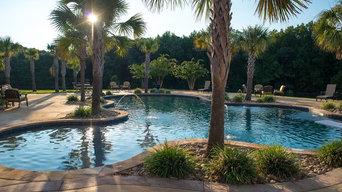 Custom Luxury pool