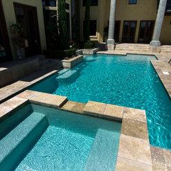 Sabine Pools Spas Furniture Custom Pool 1