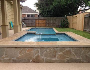 Custom Pool & Covered Patio