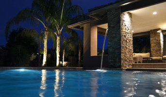 Custom Pool and Gazebo with Water Features