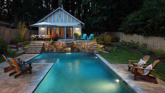 Custom Pool & Outdoor Living Space-Decatur