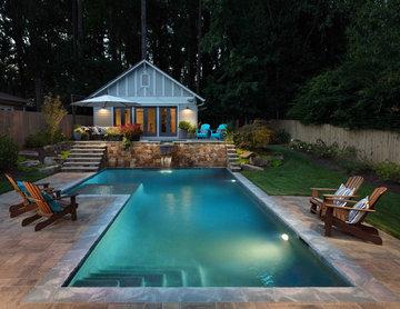 Custom Pool & Outdoor Living Space-Decatur