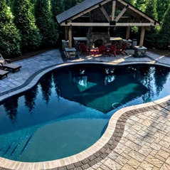 Vue custom pools greensboro nc us 27406 for Kimberley park swimming pool winston salem nc