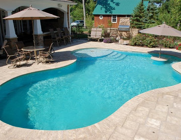 Custom Pool and patio