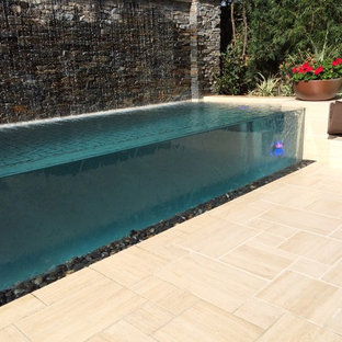 Custom Pool at Toll Brothers Baker Ranch Model Homes in California