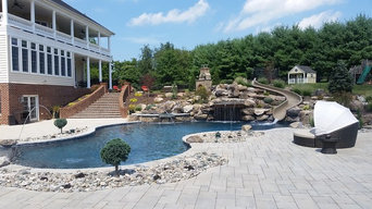 Custom Pool, Brick Steps & Pavers