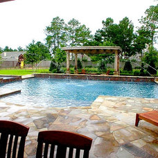 Traditional Pool by Signature Pools of Texas