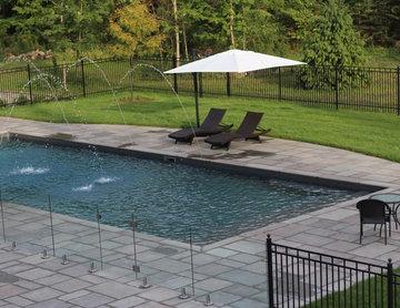 Custom Pool with Deck Jets