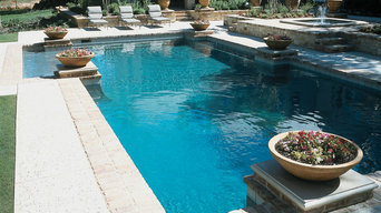 Custom Pool with Fountain