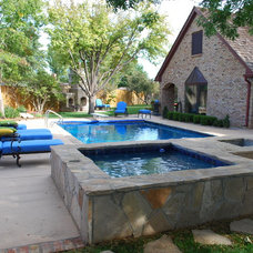 Traditional Pool by Prestigious Pools & Outdoor Living