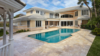 Custom Pools and Spa Design / Construction by Apex Pavers & Pools