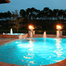 Traditional Pool by Poolside Designs