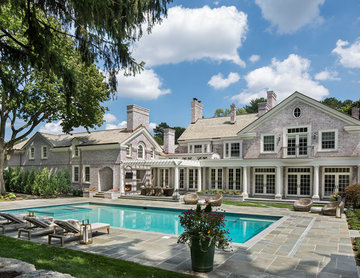 Custom Renovation and Addition, Exterior and Pool