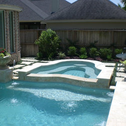 Houston Infinity Pool Swimming Pool Design Ideas Pictures