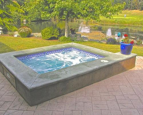 Fotos de piscinas dise os de piscinas elevadas peque as for Piscinas rectangulares