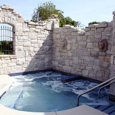 Traditional Pool by Mark Eric Benner - Architects, Ltd.