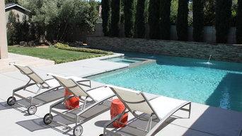 Custom Swimming Pool and Spa Design & Build