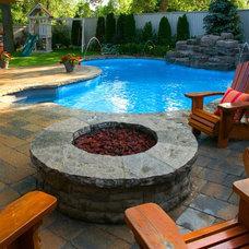 Eclectic Pool by Gib-San Pools Ltd.
