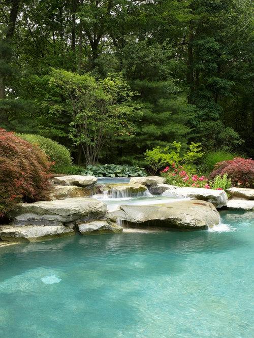 Pool Waterfall | Houzz