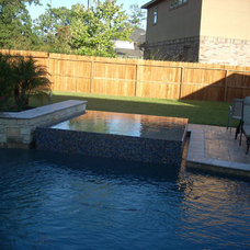 Traditional Pool by Cypress Custom Pools