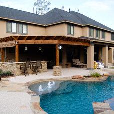 Traditional Pool by Cypress Custom Pools