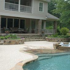 Tropical Pool by Cypress Custom Pools