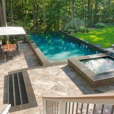 Traditional Pool by Lewis  Aquatech