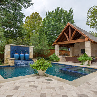 Dallas Backyard Pool & Retreat